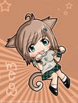 chibi kitty girl