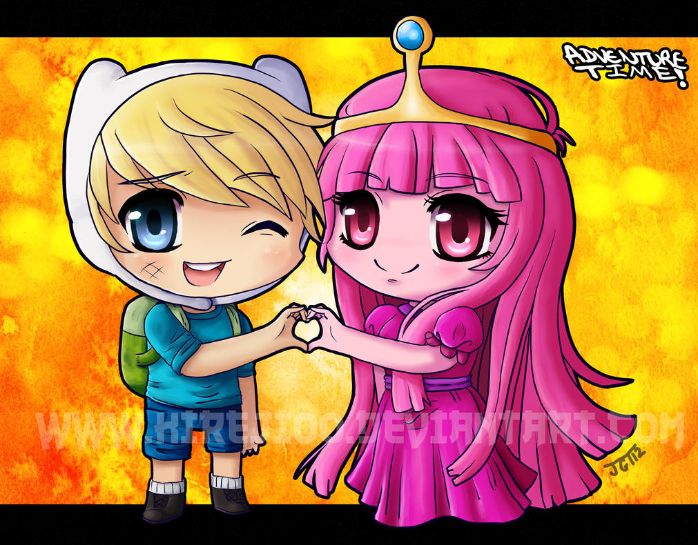 finn and princess bubblegum by kireji00 on DeviantArt