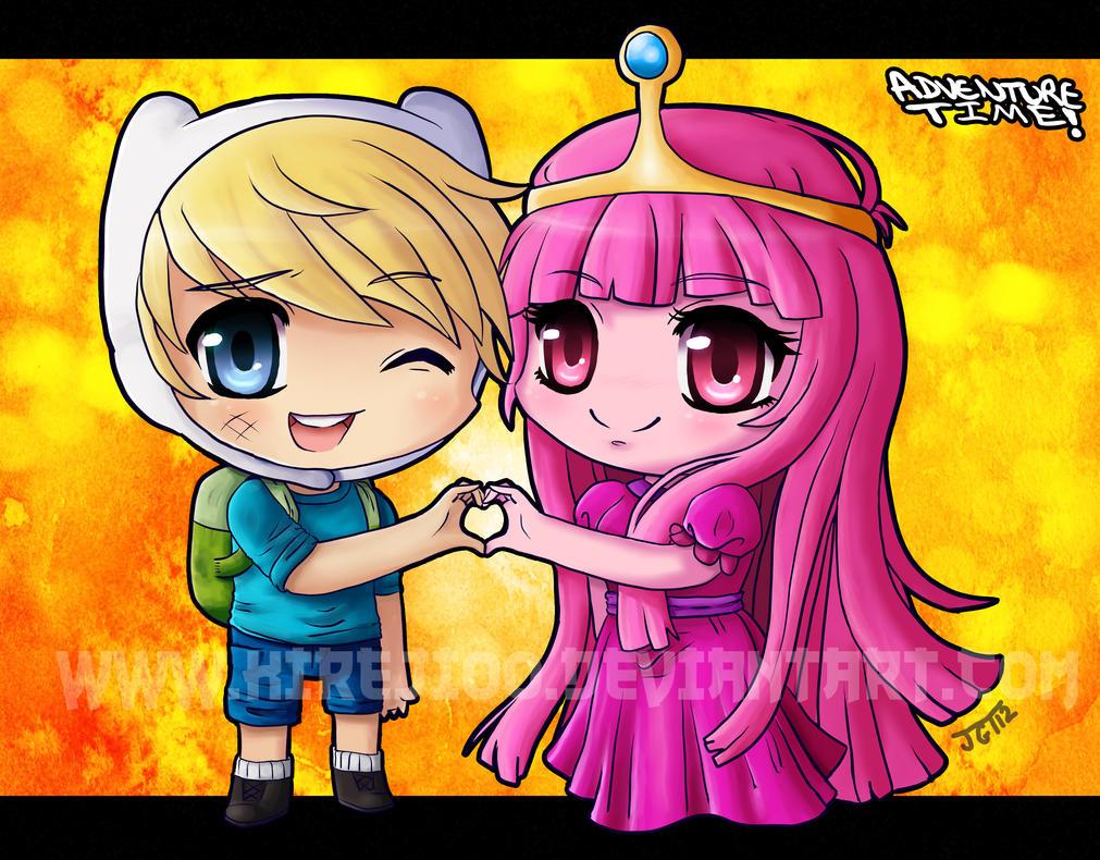 finn and princess bubblegum by kireji00 on DeviantArt