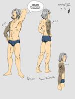 Aren's Anatomy! (With Text) [OC Training Task #2] by KawaiiKiraKoala