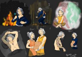 Aren's Private (?) Life! (OC Training [Task #5]) by KawaiiKiraKoala