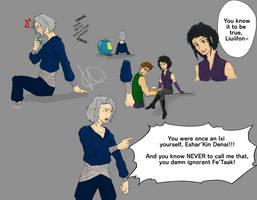 Aren's Anger! (Task #9 OC Training) by KawaiiKiraKoala