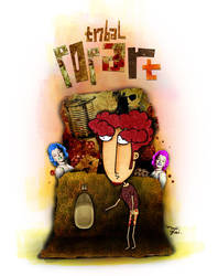 tribal x-popart by enris
