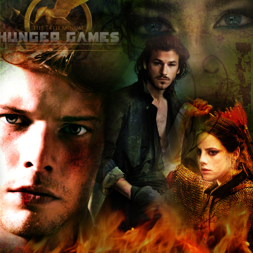 Hunger Games Banner 3 by Liliah