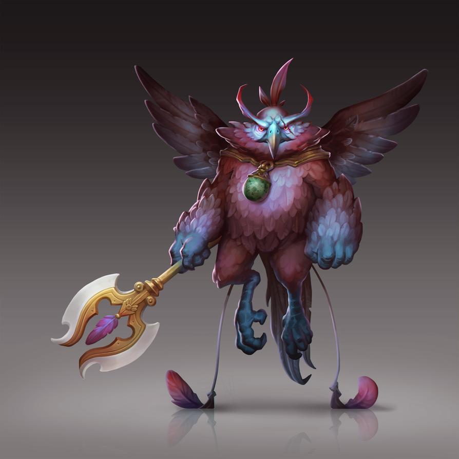 Mr Badbird by tsynali