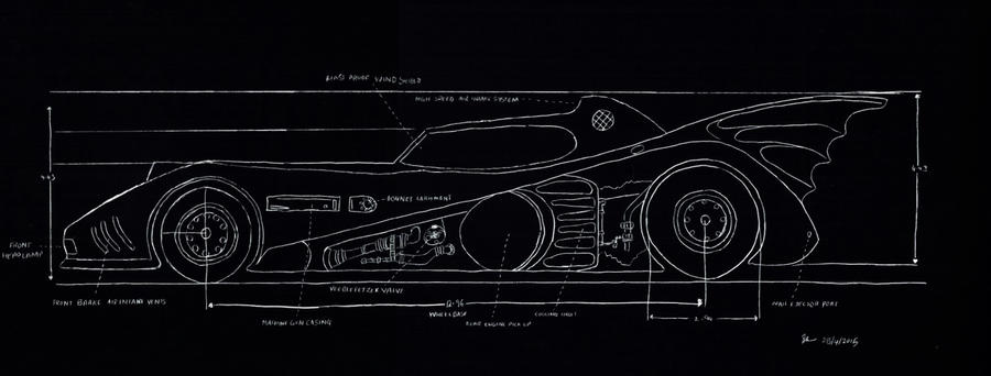Batmobile Blueprint (well, black actually) by sammwah on DeviantArt