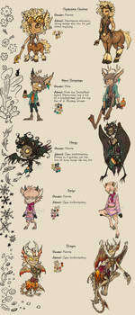 OPEN ADOPTABLES: Folklore And Mythology