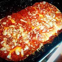 peperoni flat bread pizza