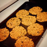 Oatmeal Fig and Nut Cookies