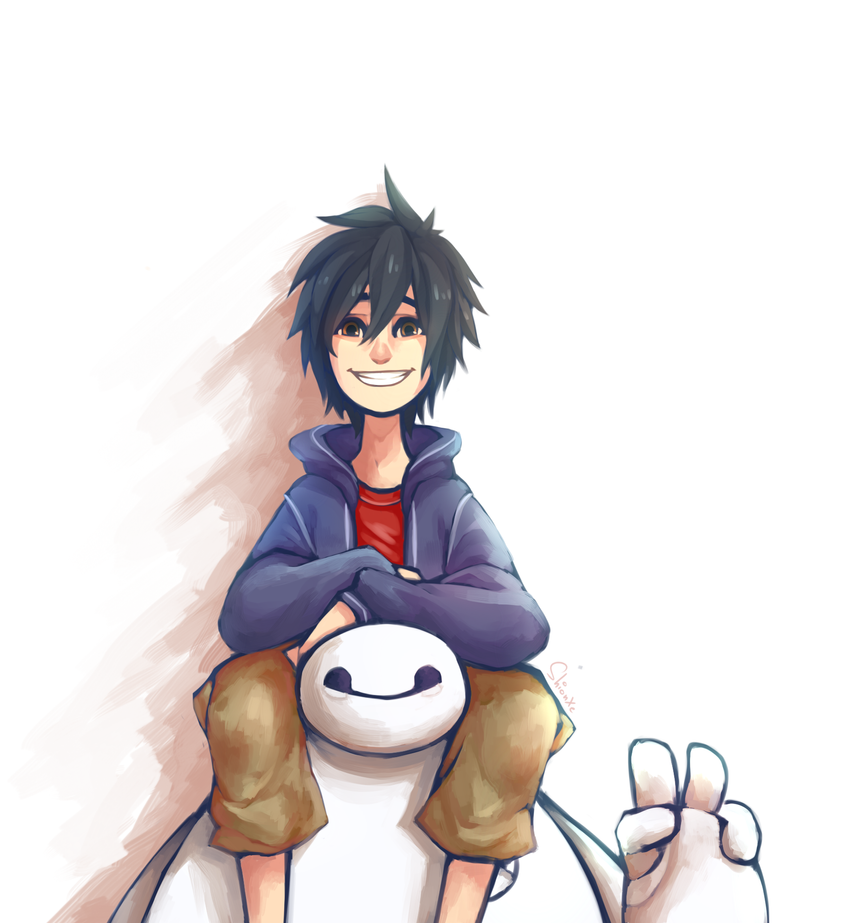 Hiro and Baymax by ShionXeriawind