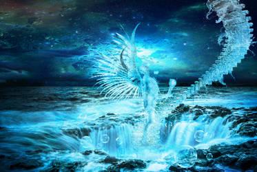 Archangel Gabriel-Seer of Water by BadAssSpartaSpawn
