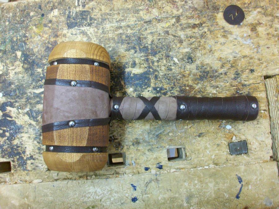 Dwarf Hammer Replica Dwarf hammer by nicolasvejrich