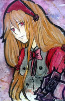 Vampire Rose (OC) by Luna-Alkhemia