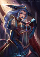 Queen Lissandra by PuddingzZ