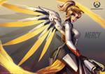 Mercy, Overwatch Fanart