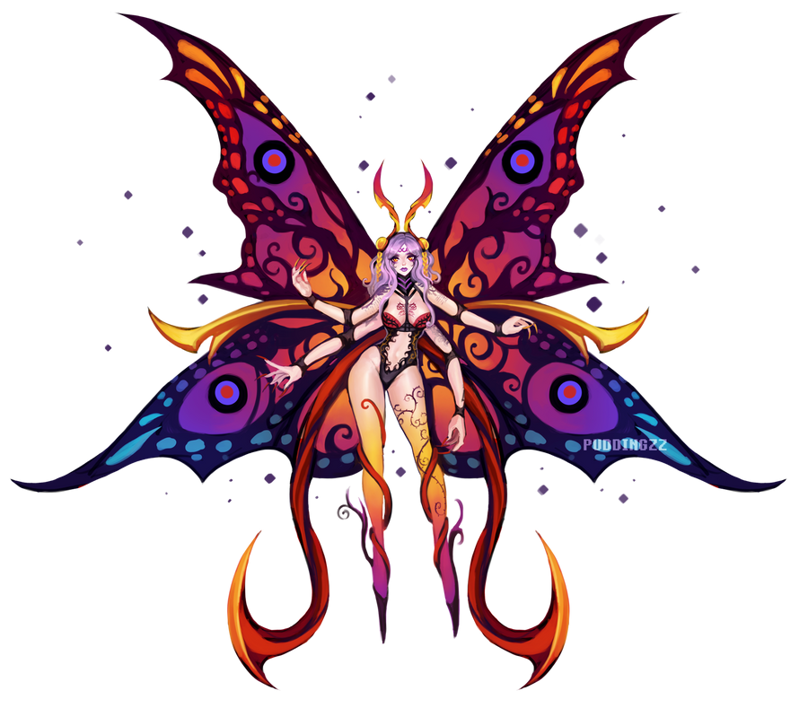 Butterfly Juvii Lv50 by PuddingzZ
