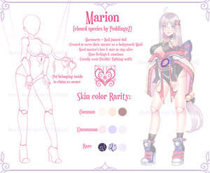 Marion (Closed species by PuddingzZ)