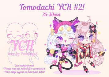 Tomodachi YCH #2 [OPEN]