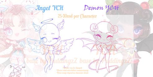 Angel x Demon YCH [OPEN]