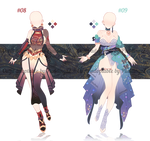 Adoptable Outfit Batch #03 [closed ty!]