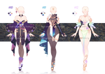 Adoptable Outfit batch #04 [closed ty!]