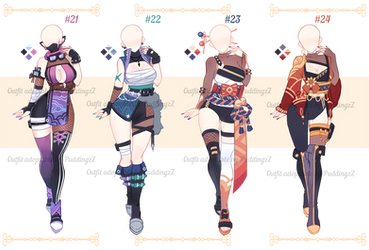 Adoptable Outfit batch #07 [closed ty!]