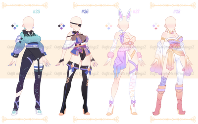 Adoptable Outfit batch #08 [closed ty!]