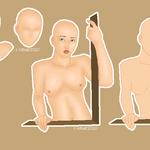 Half Body Portrait Doll by kitkat2010