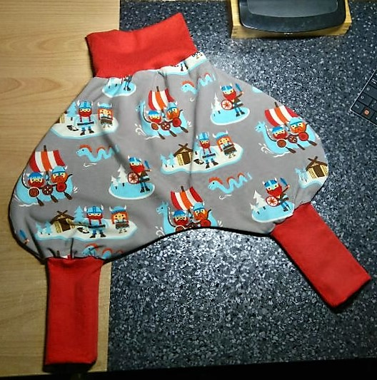 Little Viking Baby trousers for Hannah-Lucia by chac-chac on
