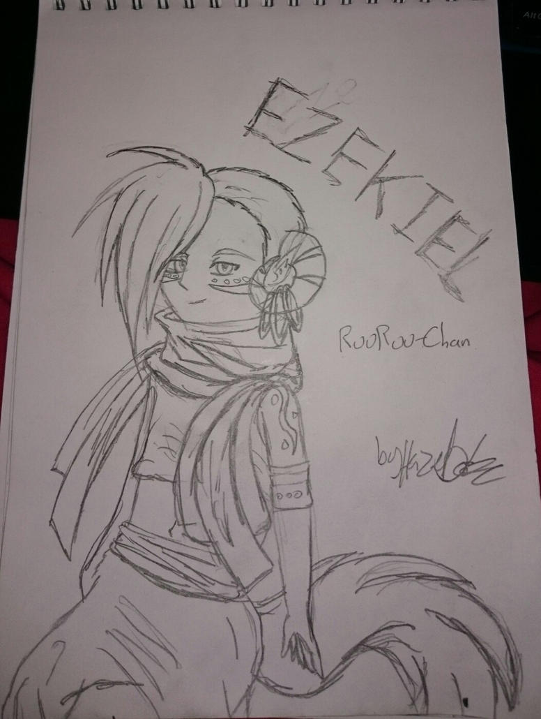 Ezekiel for RuuRuu-Chan by SuperSonic3
