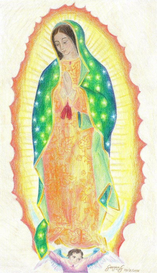 Virgen de Guadalupe by DAcatholics on DeviantArt