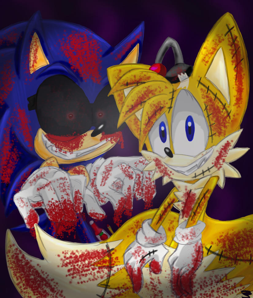 Sonic Exe And Tails Doll