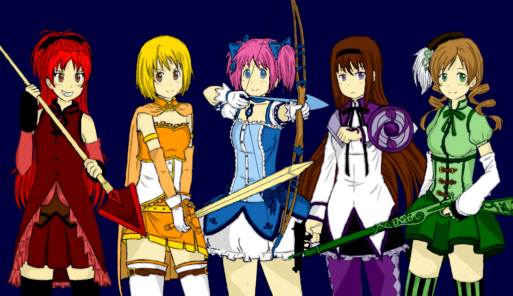 madoka magica fanart future fanfiction colors by rein2003 on