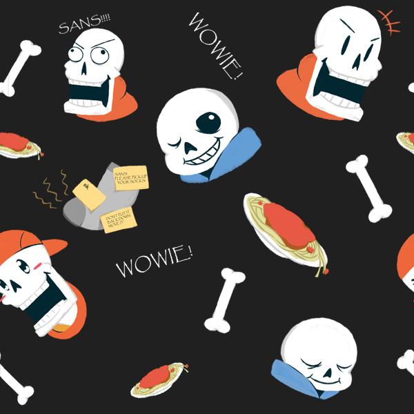 Undertale Tiles Skeleton Bros By B0409d On Deviantart