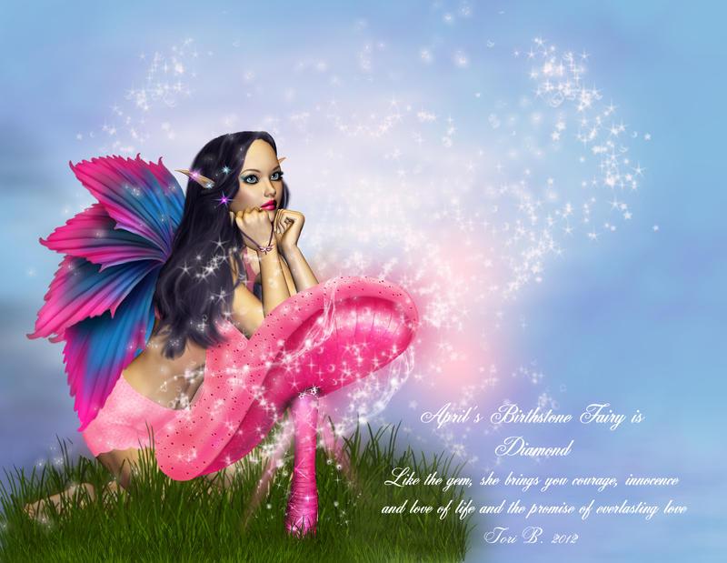 April Fairy - Diamond by ToriB