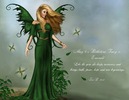 May Fairy - Emerald by ToriB