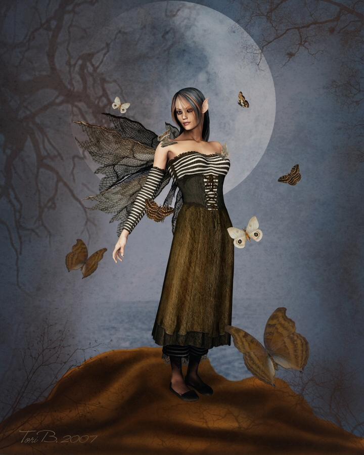 Moth Queen by ToriB