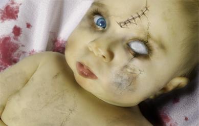 Baby Zombi by Waku