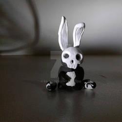Skull faced bunny