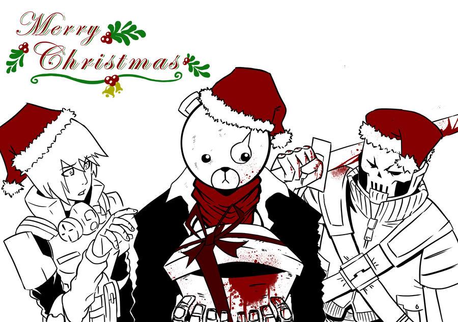 Zombie Christmas Merry...