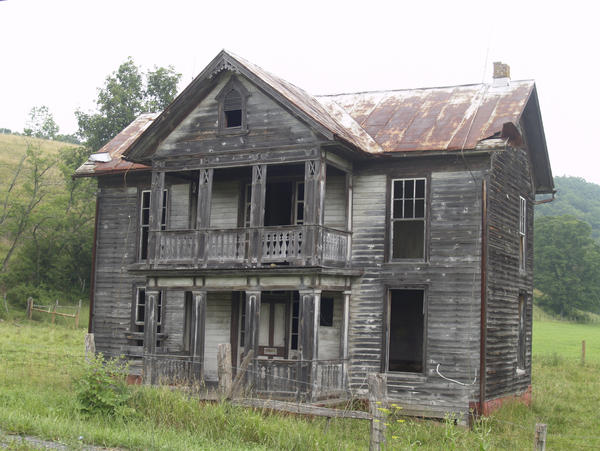 old house WV