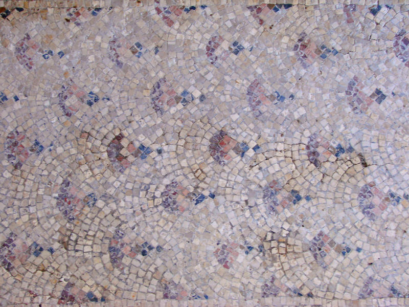 Mosaic tile floor tex by Irie-Stock