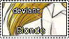 Deviant Blonde by D-E-F