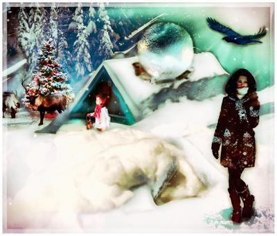 Holiday At The Christmas Cabin by Dracogem