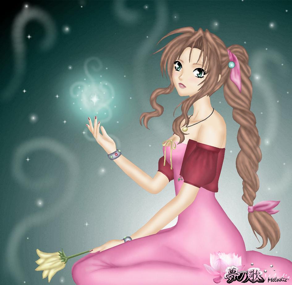 Aerith, In Final Fanatasy VII by Vanetya