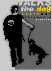 Walks the Dog by j0nzj