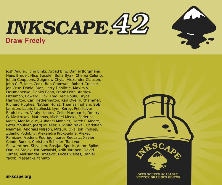 Inkscape About Screen Contest by j0nzj