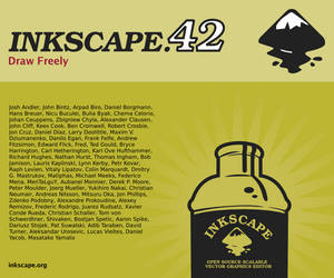 Inkscape About Screen Contest