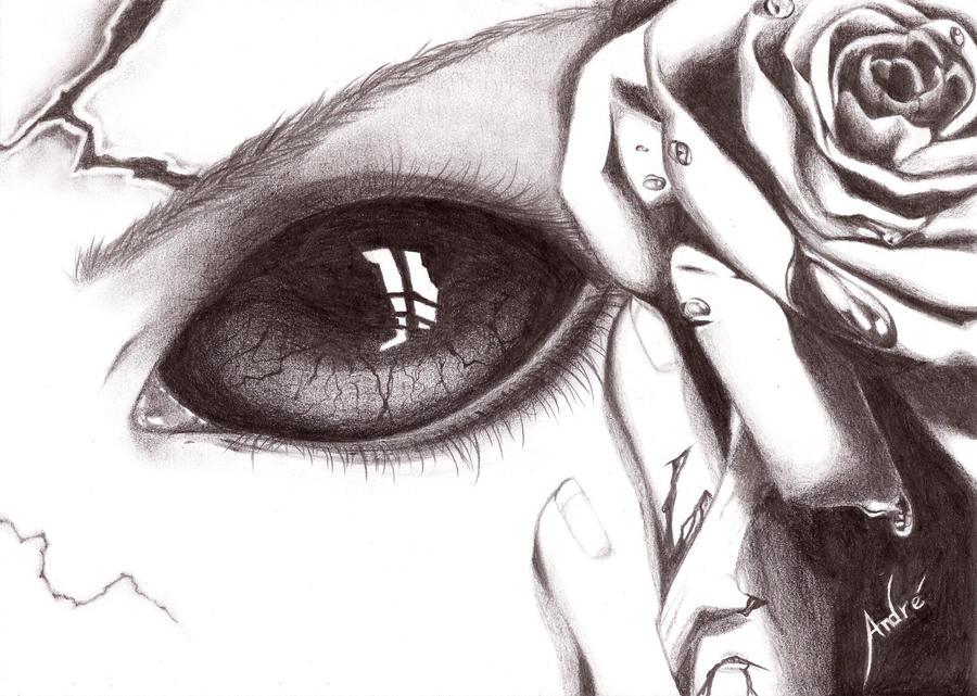 Scary Eyes by Mangadark