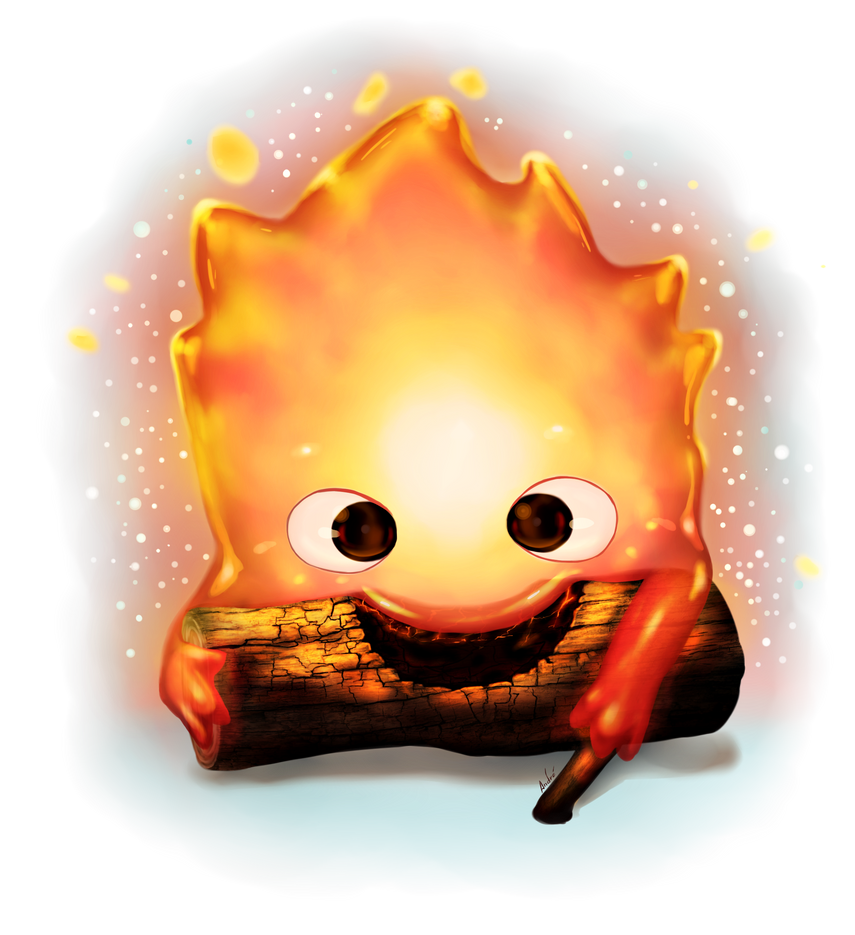 Calcifer by Mangadark